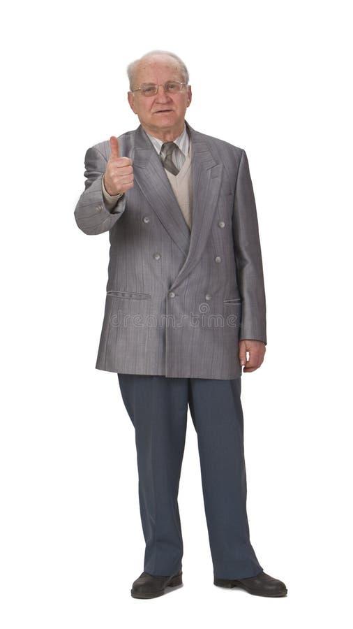 Download Optimist senior stock photo. Image of achievement, expression - 5338804