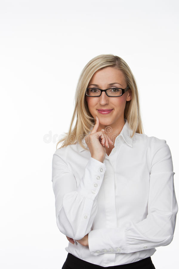 Download Optimistic Businesswoman Smiling At The Camera Stock Photo - Image: 56714985