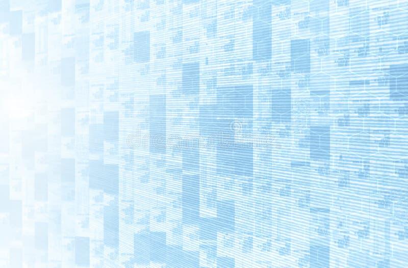 Optimização dos dados ilustração stock