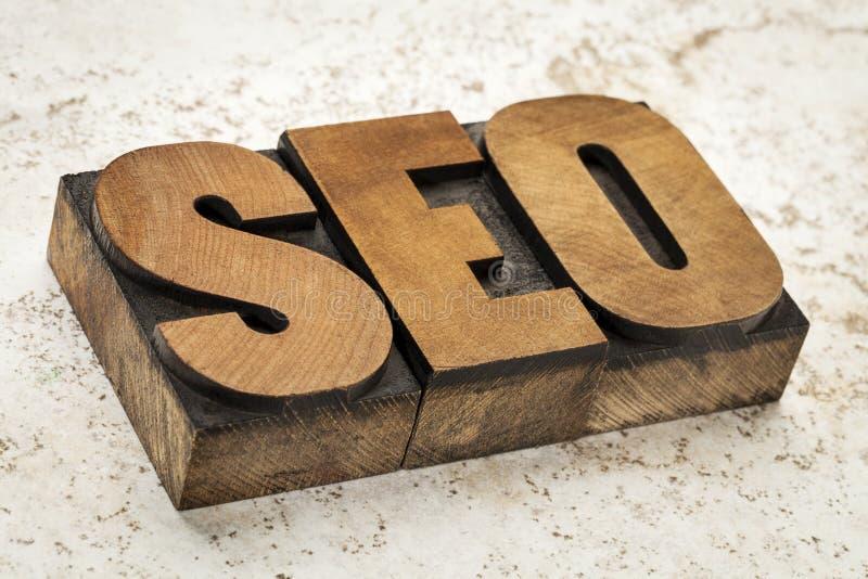 Optimización del Search Engine - SEO foto de archivo