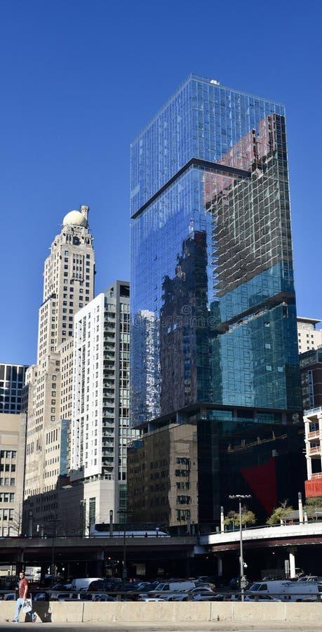 Optimum Chicago concentrare fotografie stock libere da diritti