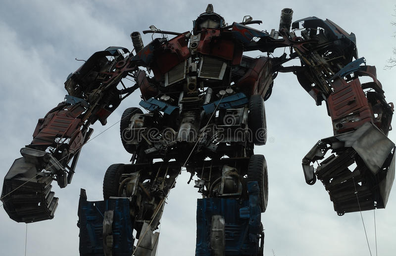 Optimus prime royalty free stock image