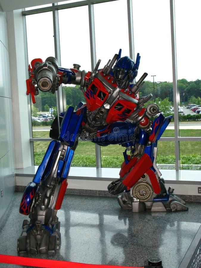 optimus satt i gång transformator arkivfoton