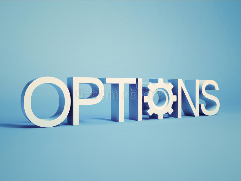 Options Concept Stock Photography