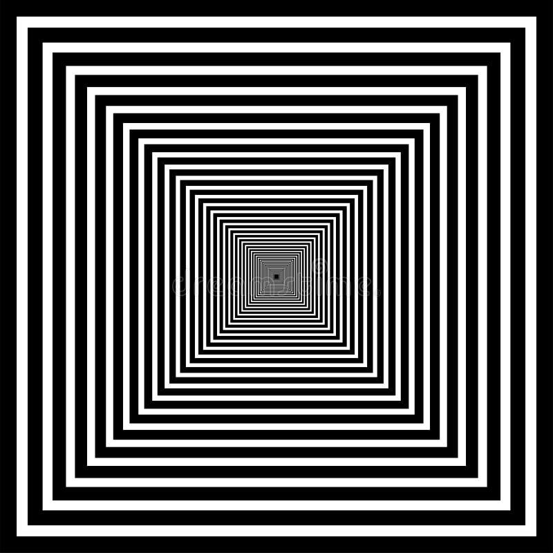 Optisch art stock illustratie