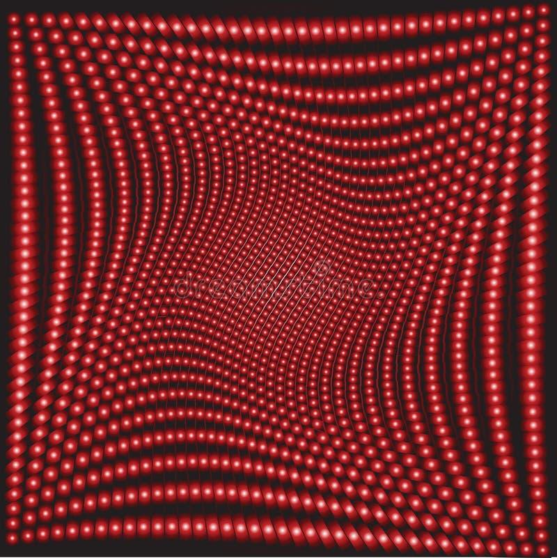 Optisch effect vector illustratie