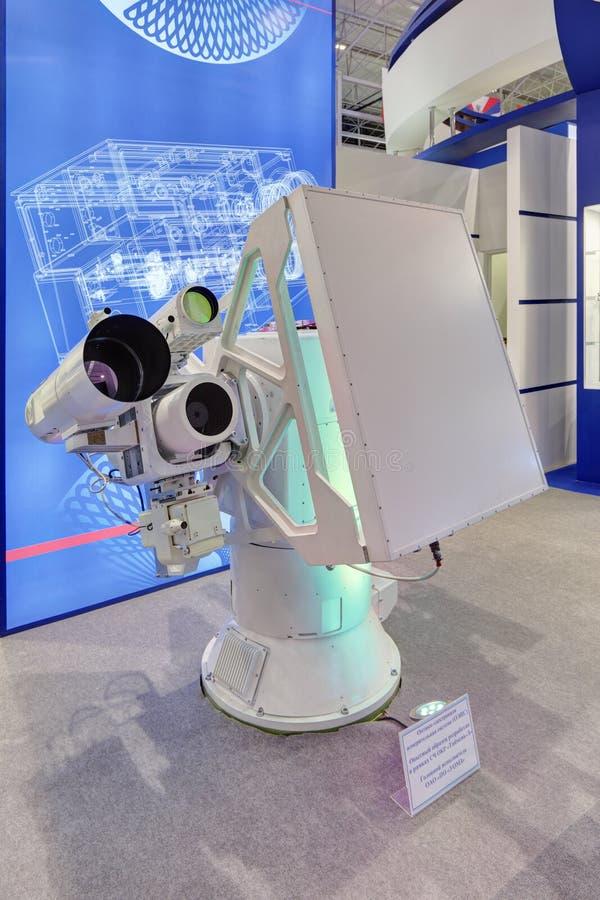 Optisch-elektronische Station stockbilder