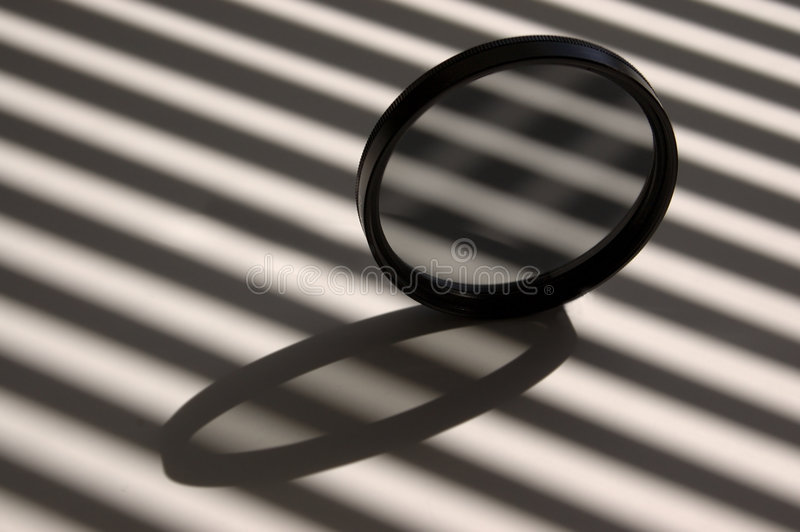 Optische filter royalty-vrije stock afbeeldingen