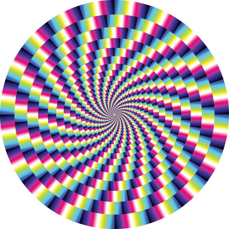 Optische Illusion stock abbildung