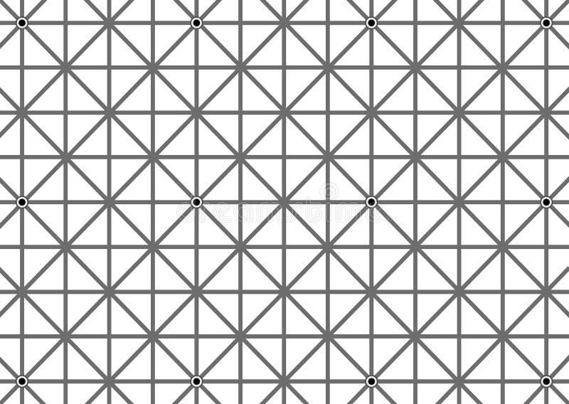 Optische Illusion-Hintergrund lizenzfreie abbildung