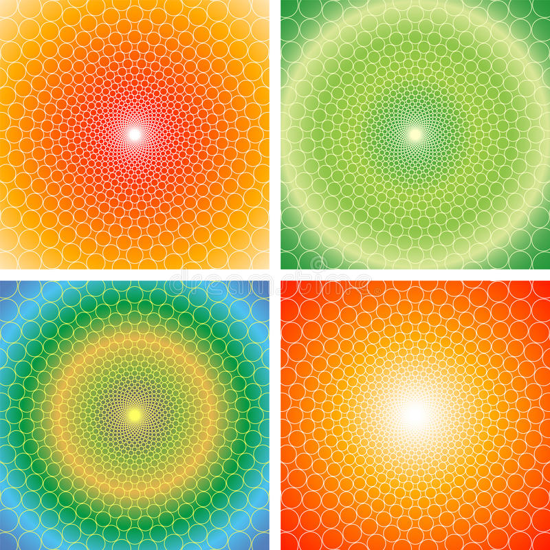 Optische Illusion (Vektor) vektor abbildung