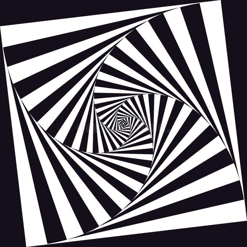 Optische Kunst stock abbildung