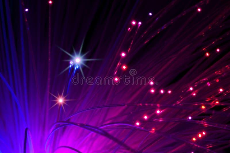 Optische vezels stock foto