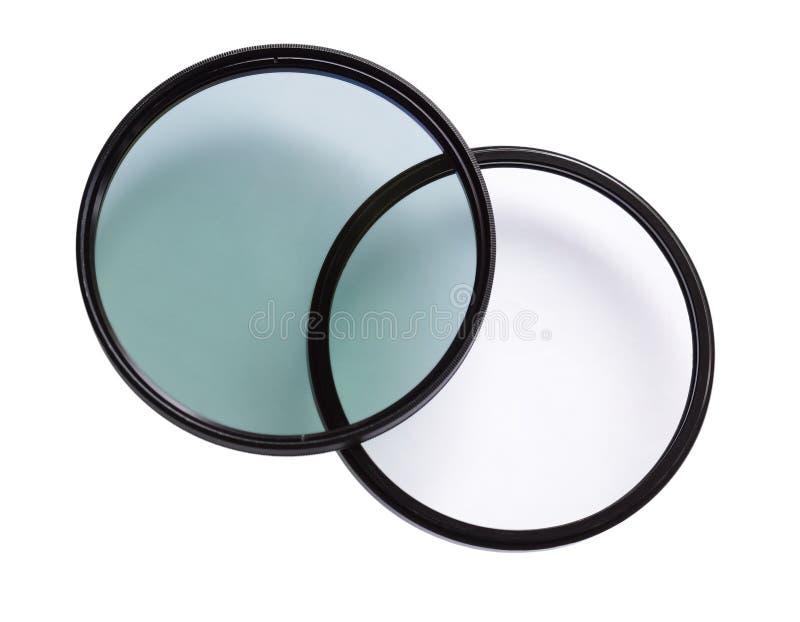 Optischer Polarisierungs-Filter lizenzfreies stockbild