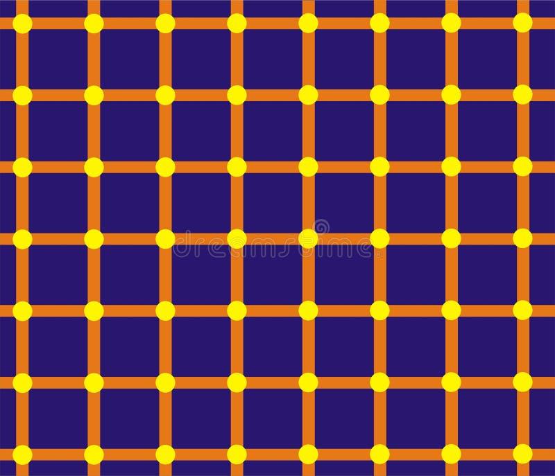 optisk illusion royaltyfri illustrationer
