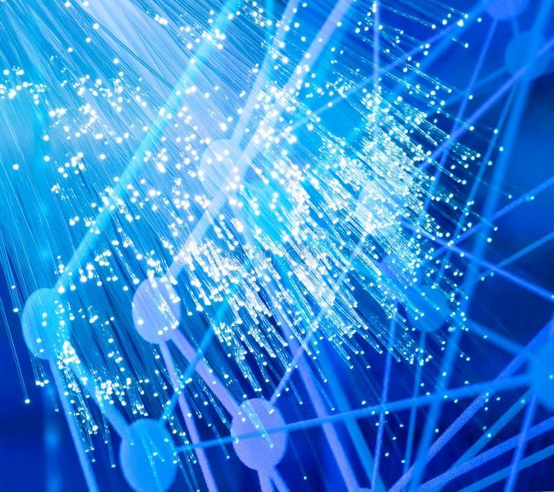 Download Optisk kabelfiber arkivfoto. Bild av komplicerat, medel - 76701196