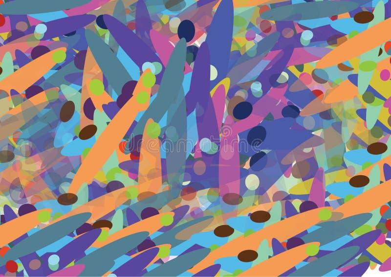 optisk vektor för bakgrund stock illustrationer