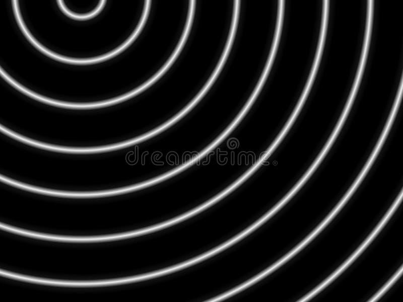 optiska cirklar vektor illustrationer
