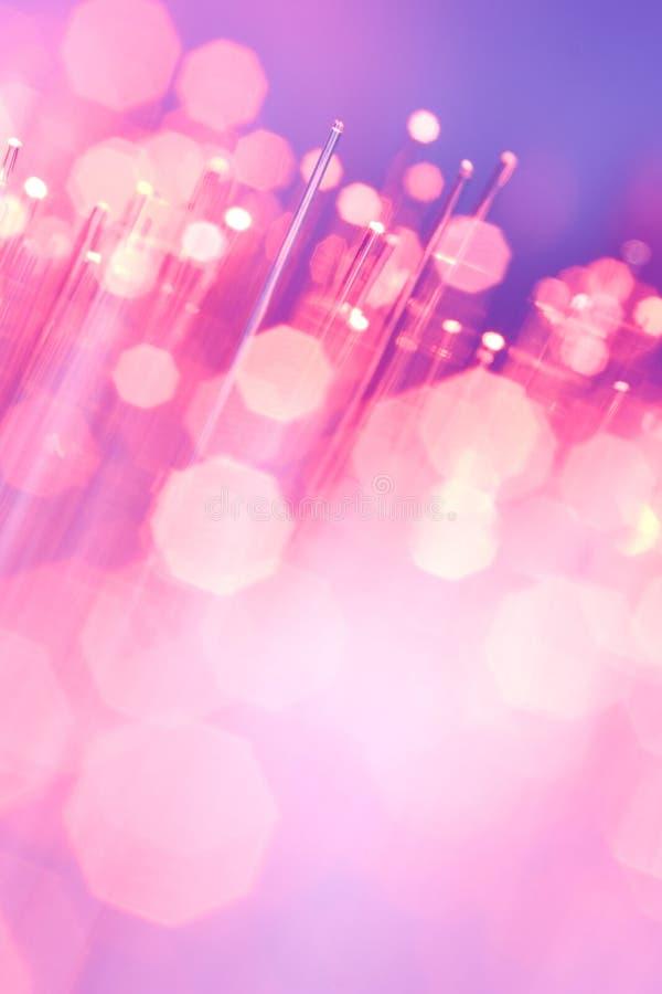 optiska fibrer royaltyfria foton