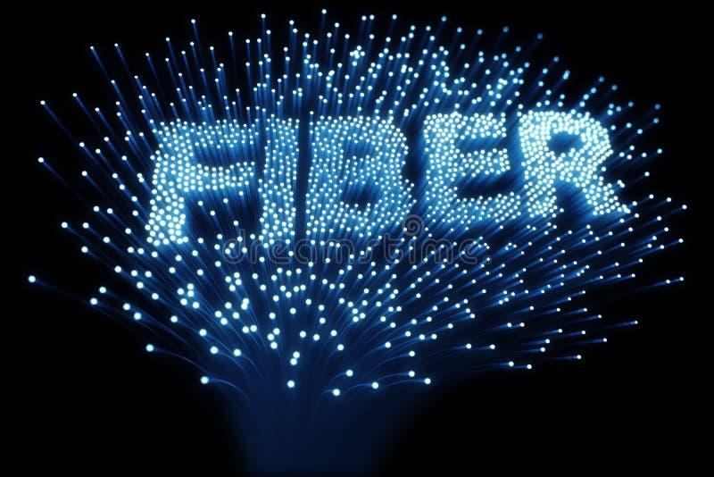 optiskt för fiber royaltyfri illustrationer