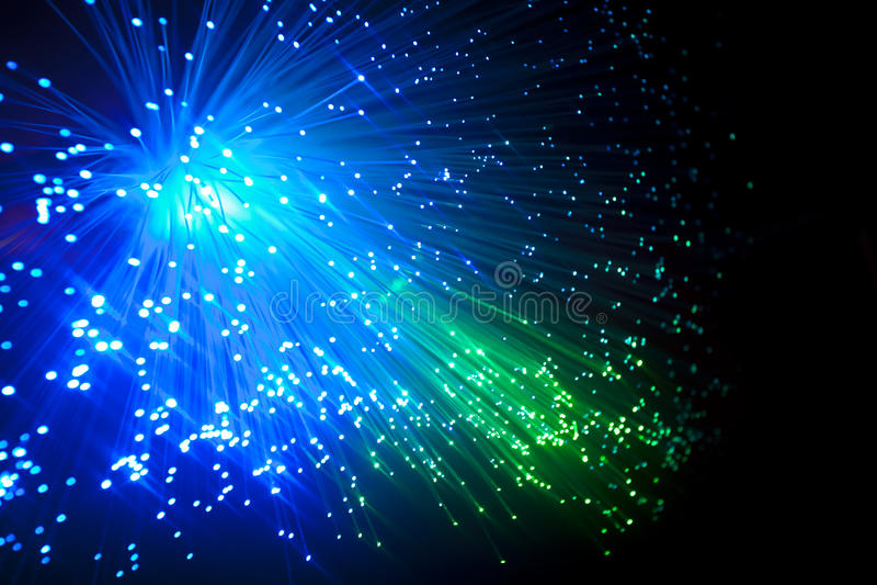 optiskt för fiber royaltyfria foton