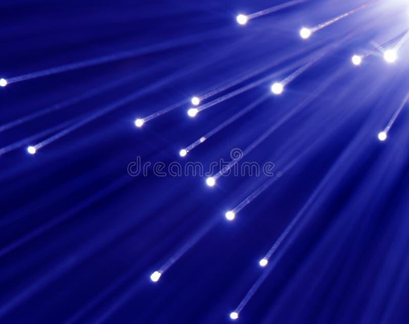 optiskt för fiber arkivbild