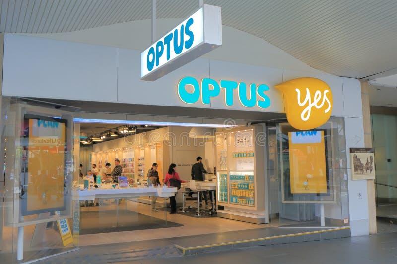 Optus Australia fotografie stock