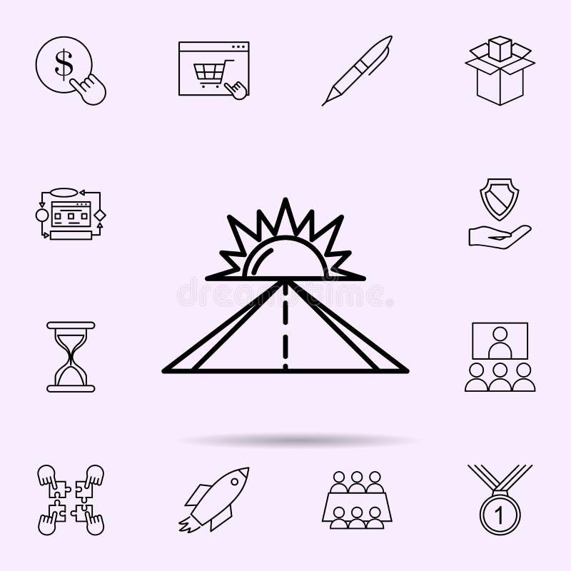 optymistycznie trybowa ikona Og?lnoludzki ustawiaj?cy sieci mieszanka dla strona internetowa projekta i rozwoju, app rozw?j ilustracja wektor