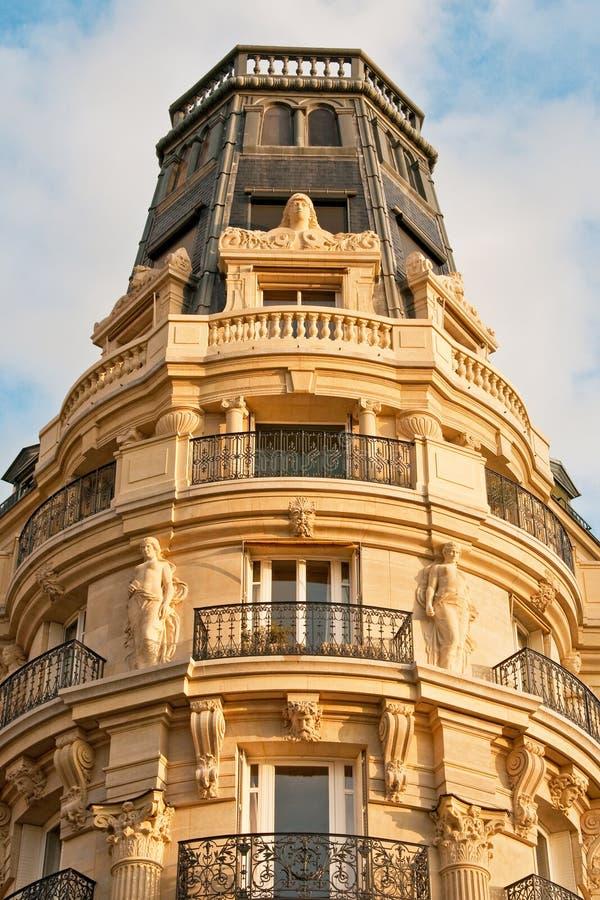 Opulance van Parijse Flats royalty-vrije stock foto