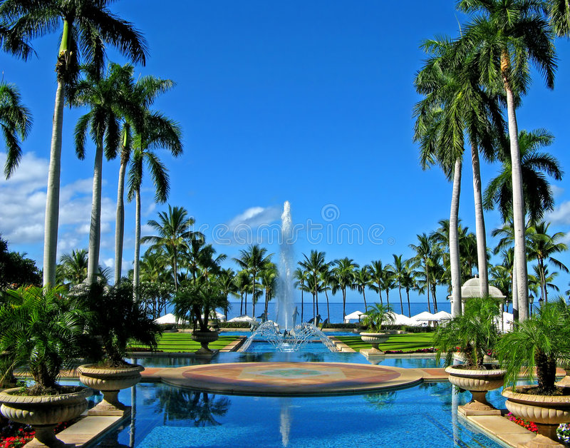 Opulence de Maui photos stock