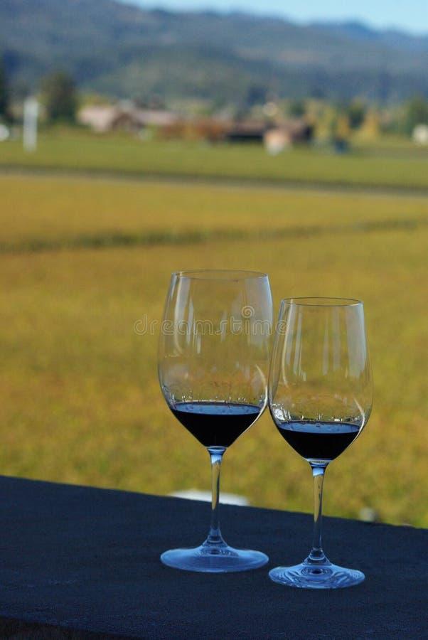 Opus one winery wedding vineyard stock photography