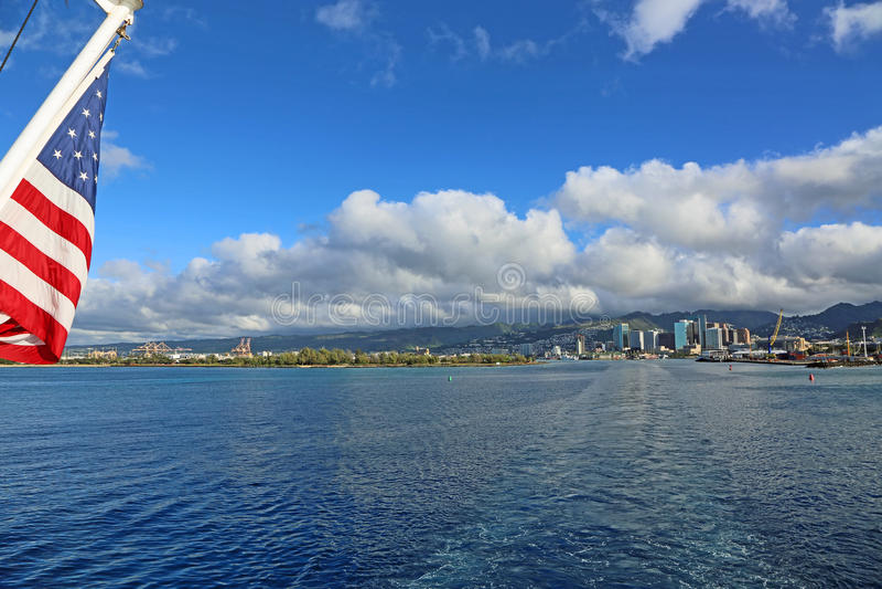 Opuszczać Honolulu obrazy royalty free