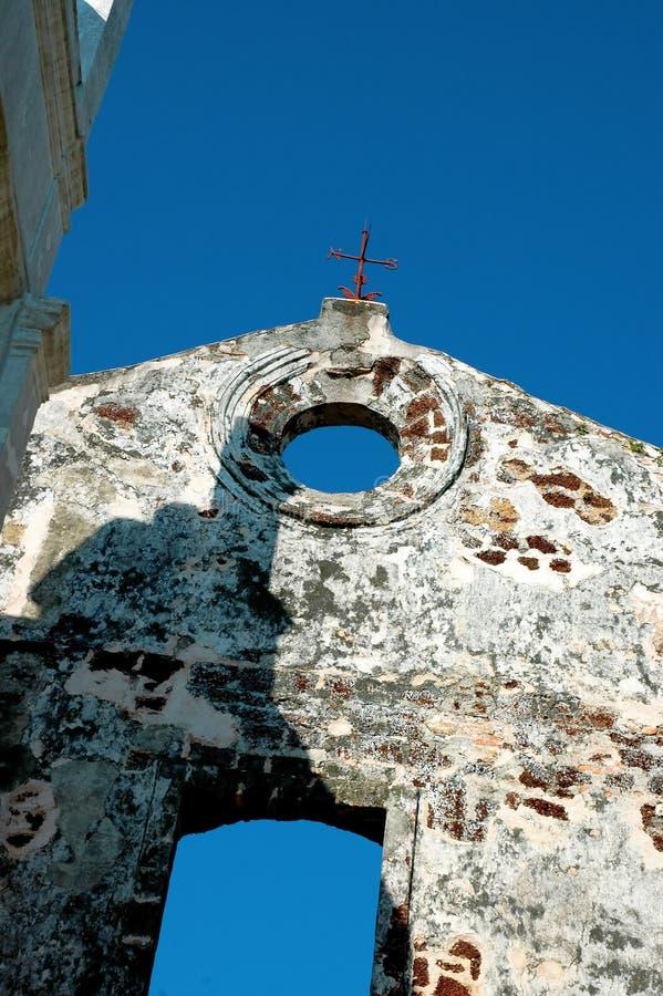 Download Opuszczony budynek obraz stock. Obraz złożonej z landmarks - 133481