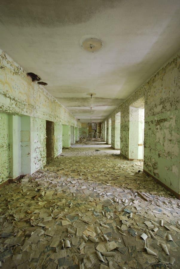opuszczony budynek poczty zdjęcia royalty free