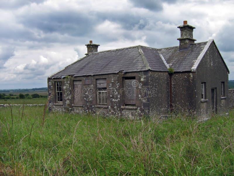 opuszczony budynek szkoły fotografia stock
