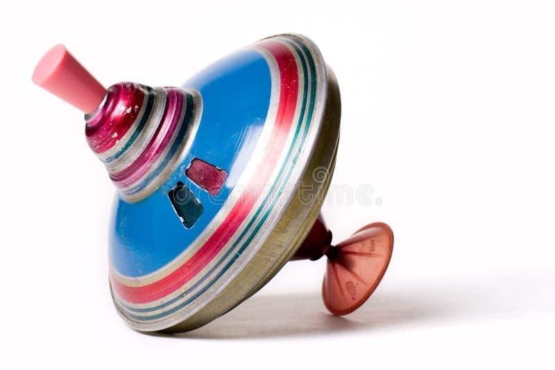 opuszczony roczne whirligig metali zdjęcie stock
