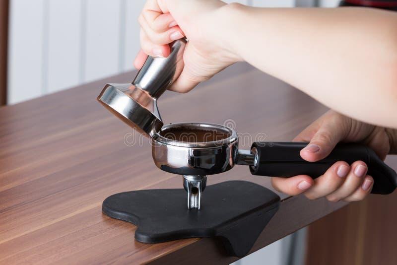 Opvulmateriaal de koffie stock afbeeldingen