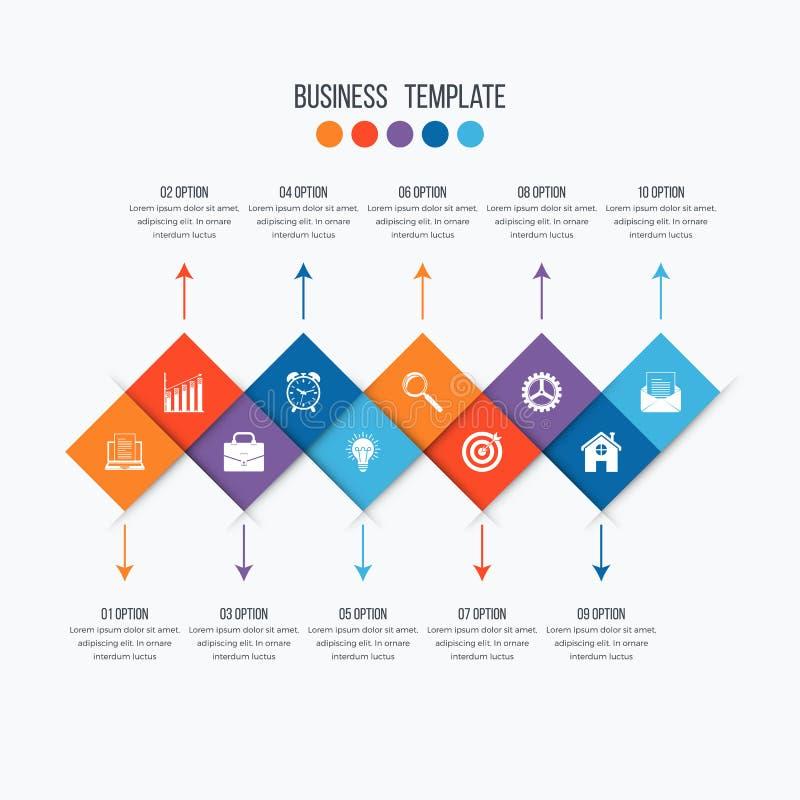 Opzioni infographic di progettazione 10 di vettore for Opzioni di materiale di raccordo