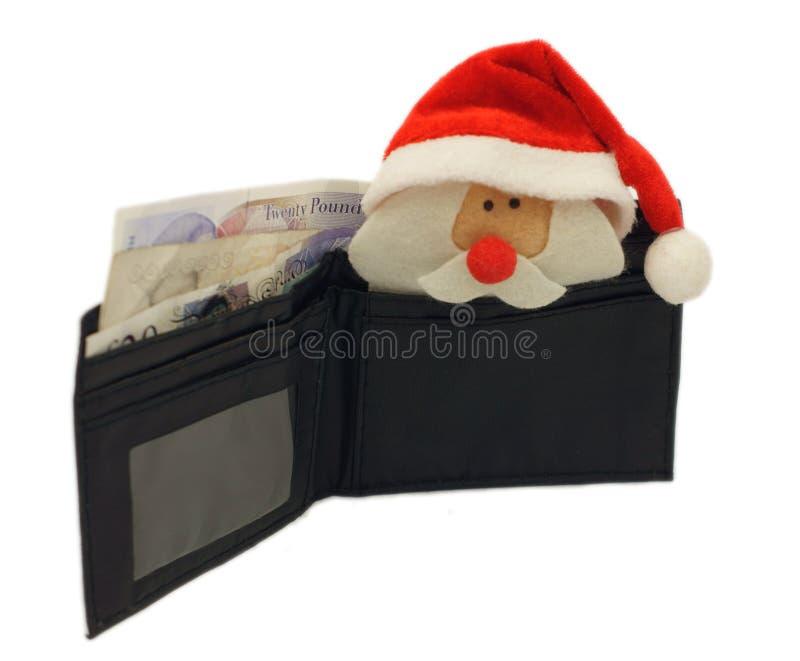Orçamento do Natal imagens de stock