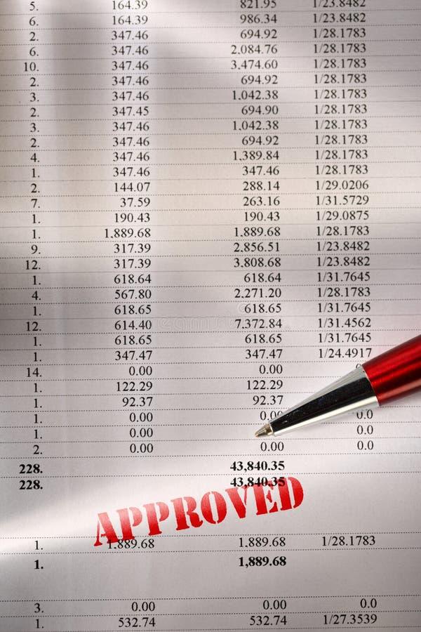 Download Orçamento Operacional Aprovado Imagem de Stock - Imagem de finanças, operar: 29842407