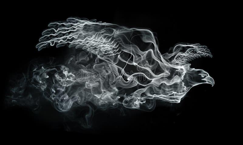 orła dym ilustracja wektor