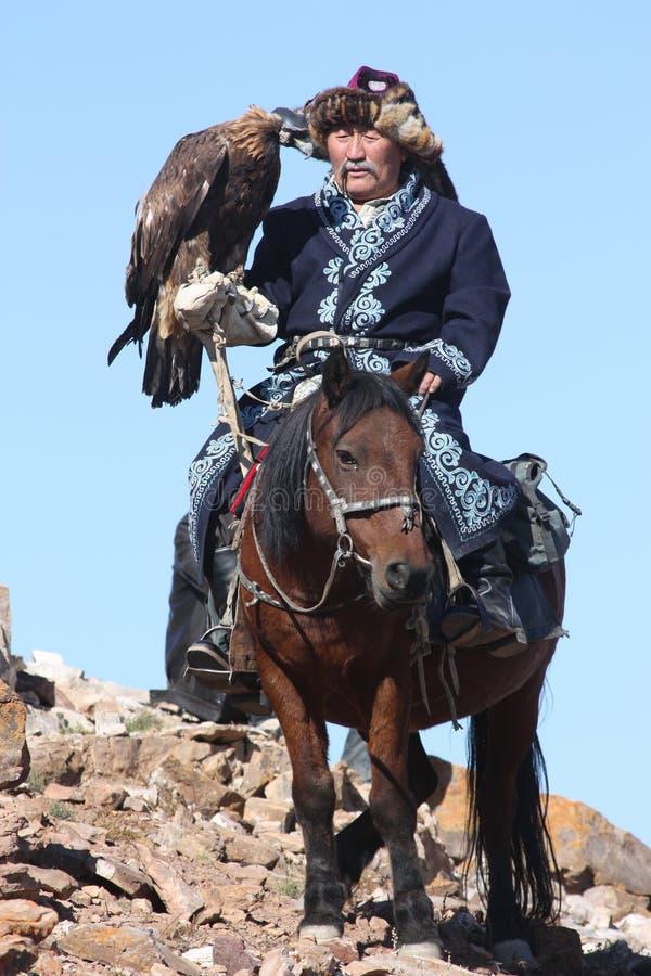 orła eaglehunter złoty mężczyzna stary obraz stock