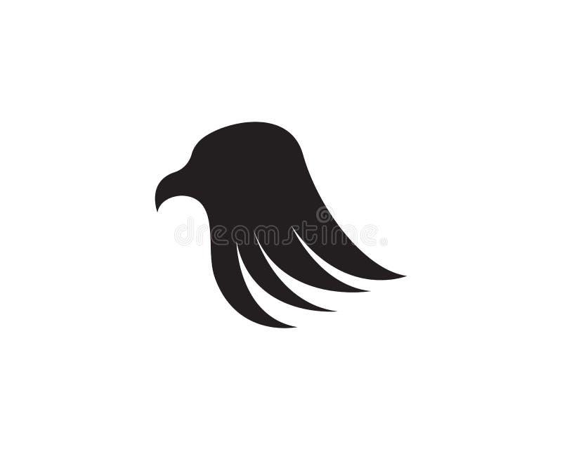 orła kierowniczy logo i symbolu szablonu ikony ilustracja wektor