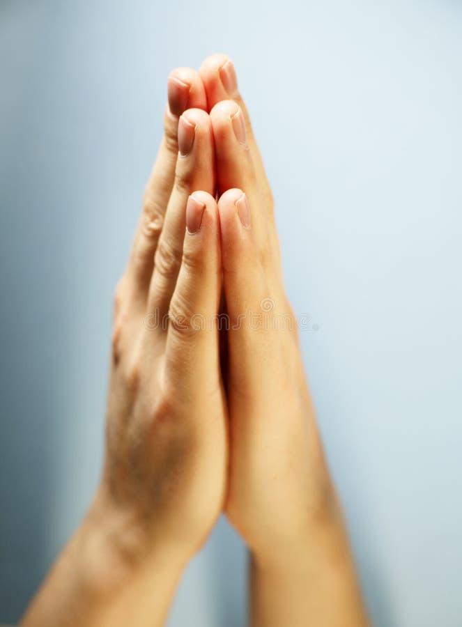 Oração fotografia de stock royalty free