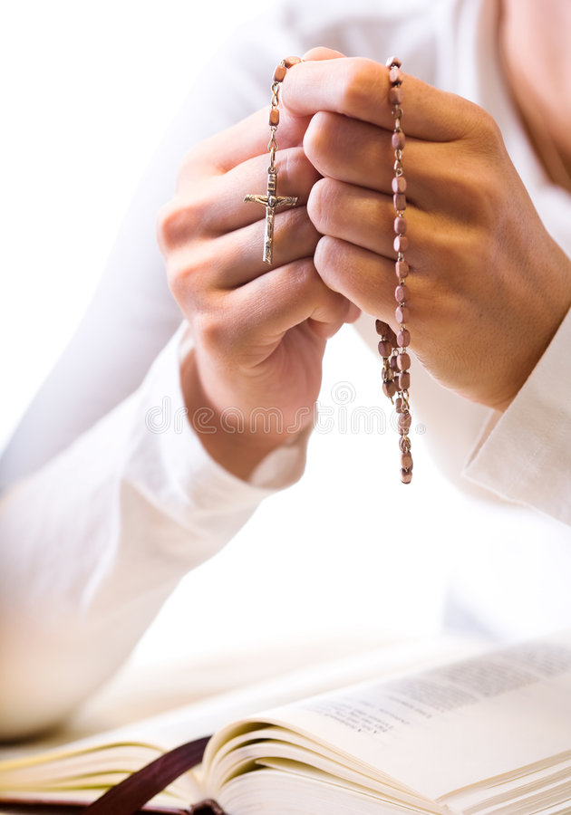 Oração imagens de stock royalty free