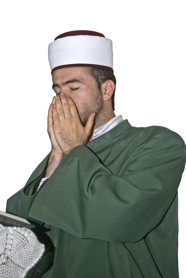 Oração muçulmana fotografia de stock royalty free
