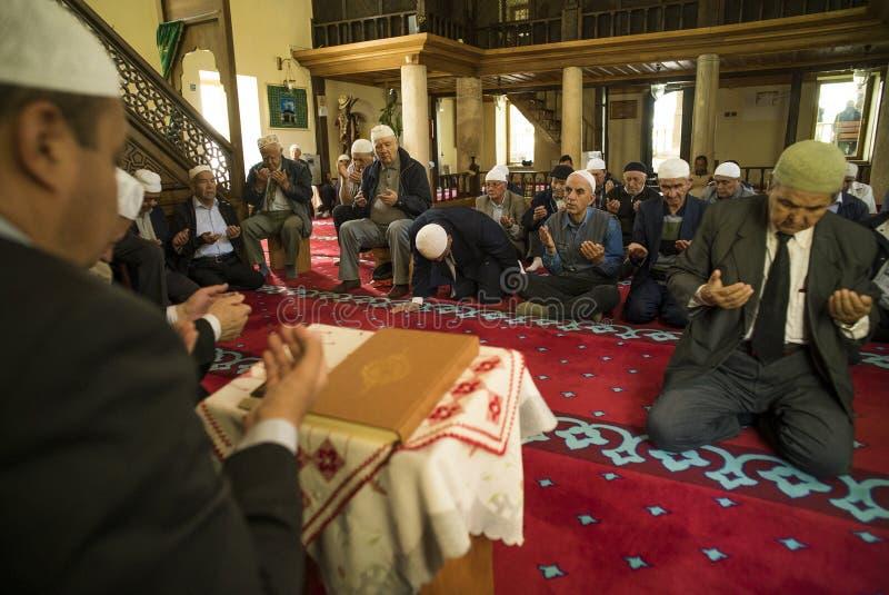 Oração muçulmana em Mangalia foto de stock royalty free