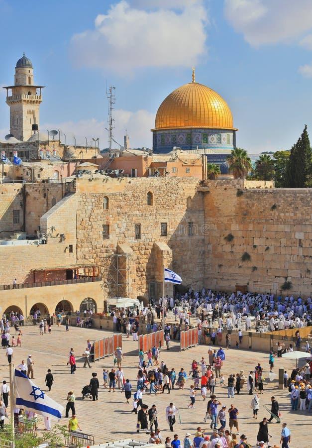 Oração no feriado de Sukkot imagens de stock royalty free