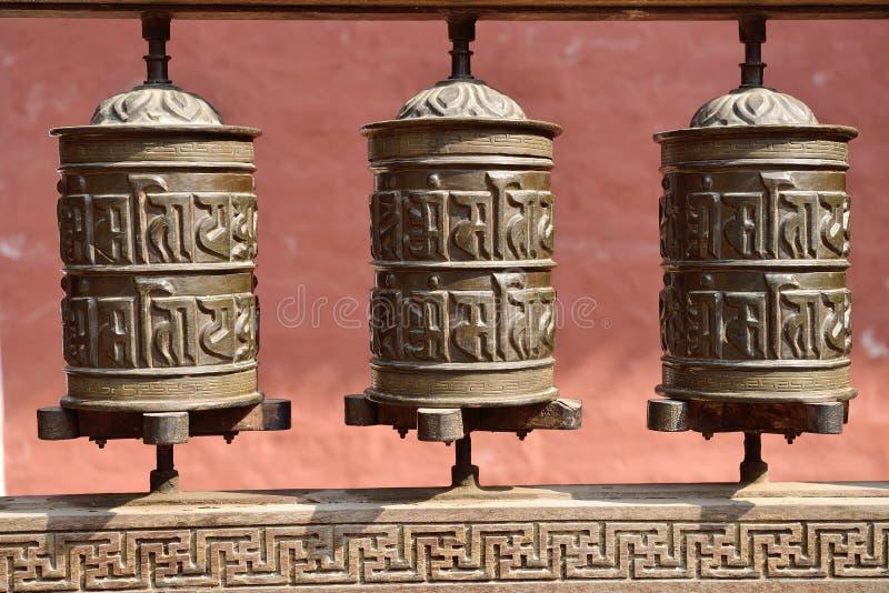 Download A Oração Roda Dentro O Rudravarna Mahavihar Em Patan, Nepal Foto de Stock - Imagem de estátua, decoração: 29831488