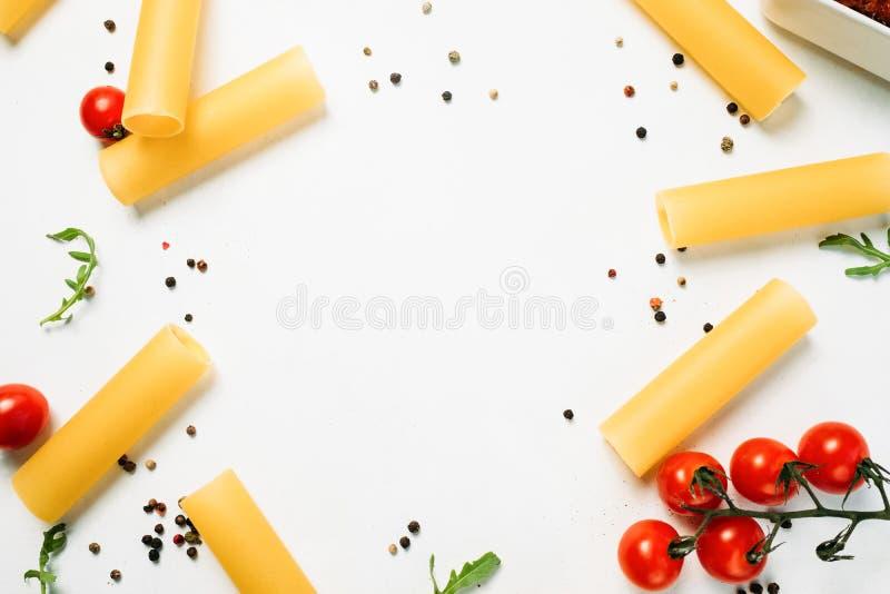 Ora di colazione luminosa del fondo dell'alimento fotografia stock libera da diritti